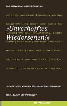 Unverhofftes Wiedersehen! Eine Hommage an Johann Peter Hebel