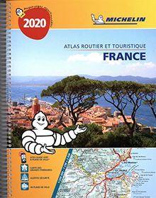 Atlas Routier et Touristique France Spirale Michelin 2020 (ATLAS (25030))