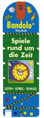Bandolo Set 39: Spiele rund um die Zeit: Vorschule. Lern Spiel Spass