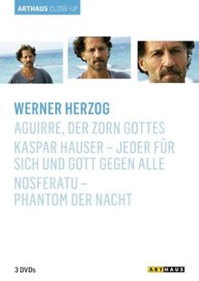 Werner Herzog - Arthaus Close-Up (3 DVDs)