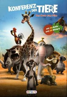 Konferenz der Tiere - Das Buch zum Film mit 3D Brille und 3D Bildern
