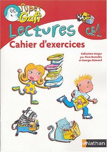 Super Gafi CE1 cahier d'exercices lectures