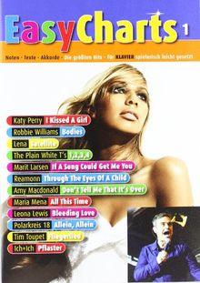 Easy Charts 1: Die größten Hits spielerisch leicht gesetzt. Band 1. Klavier / Keyboard. Spielbuch. (Music Factory)