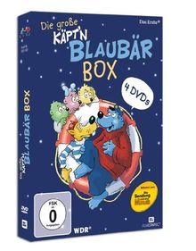 Die große Käpt'n Blaubär Box (4 DVDs)