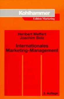 Internationales Marketing- Management