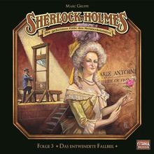 Sherlock Holmes, Folge 3: Das entwendete Fallbeil