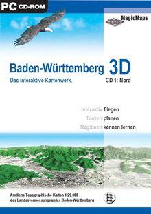 Baden-Württemberg 3D: CD 1, Nord