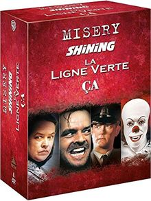 Stephen King : Misery + Shining + La ligne verte + Ça [Édition Limitée]