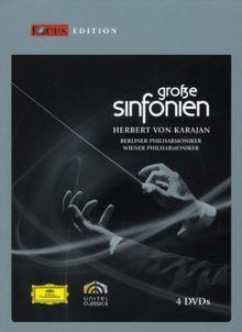 Herbert von Karajan - Große Sinfonien (Focus Edition) [4 DVDs]