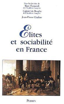Elites et sociabilité en France