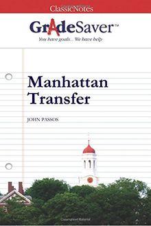 GradeSaver(tm) ClassicNotes Manhattan Transfer