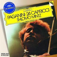 24 Capricen für Violine Op.1