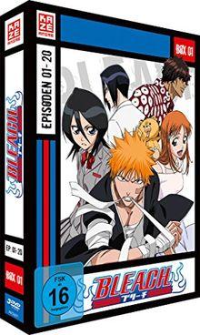 Bleach TV Serie - DVD Box 1 (Episoden 1-20) (3 DVD's)
