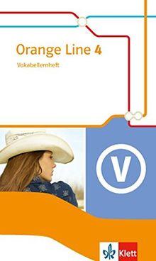 Orange Line / Ausgabe 2014: Orange Line / Vokabellernheft Klasse 8: Ausgabe 2014 / Erweiterungskurs