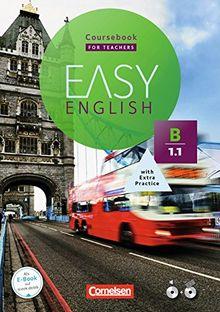 Easy English: B1: Band 1 - Kursbuch - Kursleiterfassung: Mit Audio-CD, Aussprachetrainer und Video-DVD