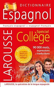 Dictionnaire Espagnol: Spécial Collège Relié