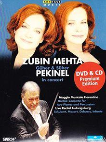 Zubin Mehta - Güher & Süher Pekinel in Concert [DVD+CD]