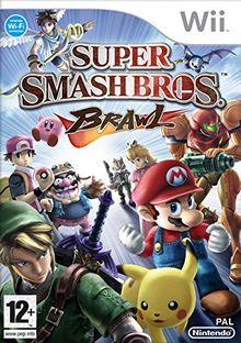 Wii Super Smash Bros Brawl Select (PEGI)