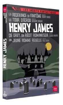 Coffret henry james : la redevance du fantôme ; le tour d'ecrou ; de grey, un recit romanesque ; un jeune homme rebelle [FR Import]