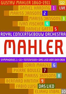 Gustav Mahler - Sinfonien 1-10 (Royal Concertgebouw) [Blu-ray]