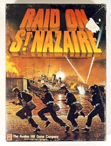Raid on St. Nazaire (Ah Adult Strategy Game, Game No. 874)