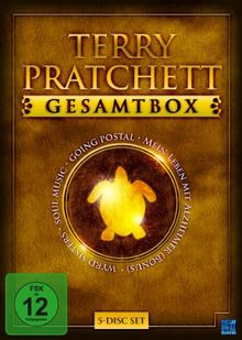 Terry Pratchett Gesamtbox (Wyrd Sisters / Soul Music / Going Postal / Bonus: Mein Leben mit Alzheimer) [5 DVDs]
