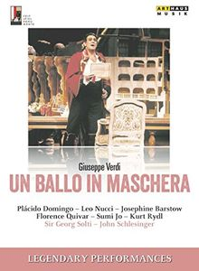 Verdi: Un ballo in maschera (Legendary Performances) [DVD]