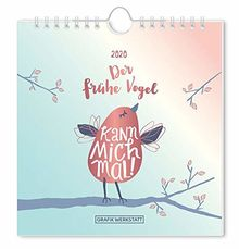 """Postkartenkalender 2020 """"Der frühe Vogel"""""""