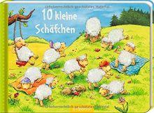 10 kleine Schäfchen (10er Stanze Minis)