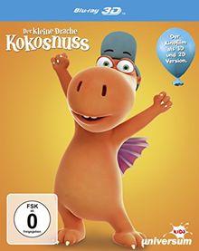 Der kleine Drache Kokosnuss (inkl. 2D-Version) [3D Blu-ray]