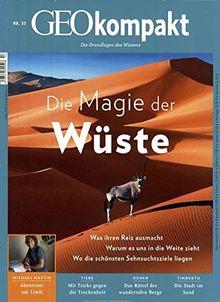 GEO kompakt / GEOkompakt 53/2017 - Die Magie der Wüste