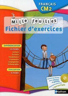 Francais Cm2 Fichier D Exercices 1cederom De Christian