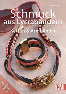 Schmuck aus Lycrabändern: Ketten & Armbänder
