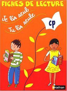 Je lis seul, tu lis seule CP : Fiches de lecture (Je Lis Seul Cal)