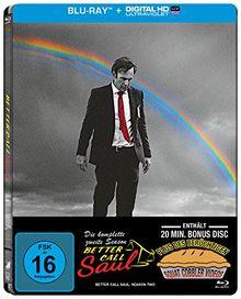Better Call Saul - Die komplette zweite Season (3 Disc Steelbook + Bonusdisc) [Blu-ray] (exklusiv bei Amazon.de) [Limited Edition]