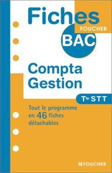Compta Gestion Terminale STT (Fiches Bac)