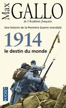 1914, le destin du monde - Une histoire de la première guerre mondiale: Essai