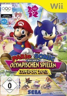 Mario & Sonic bei den Olympischen Spielen - London 2012 [Software Pyramide] - [Nintendo Wii]