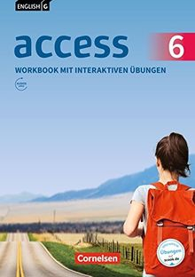 English G Access - Allgemeine Ausgabe: Band 6: 10. Schuljahr - Workbook mit interaktiven Übungen auf scook.de: Mit Audios online