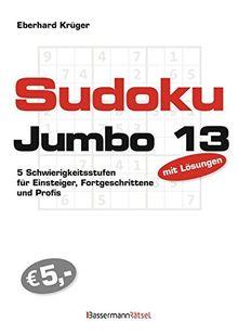 Sudokujumbo 13: 5 Schwierigkeitsstufen - für Einsteiger, Fortgeschrittene und Profis