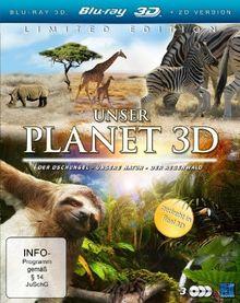 Unser Planet 3D (Der Dschungel / Der Regenwald / Unsere Natur) (3 Blu-rays) [3D Blu-ray] [Collector's Edition]
