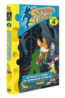 Geronimo stilton volume 4 : à bord du rongeur-express [FR Import]