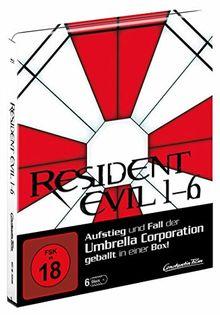 Resident Evil 1-6 limitiertes Steelbook [Blu-ray]