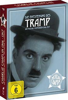 Charlie Chaplin: Die Entstehung des Tramp - Die Mutual Komödien 1916-1917 [4 DVDs]