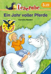 Leserabe - Schulausgabe in Broschur: Leserabe: Ein Jahr voller Pferde