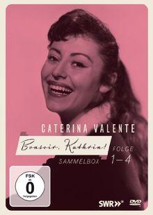 Caterina Valente - Bonsoir, Kathrin 4-fach DVD-Kollektion (LIMITED EDITION Limitierte Sammlerauflage 4 DVDs + Booklet) Die frühen Shows!