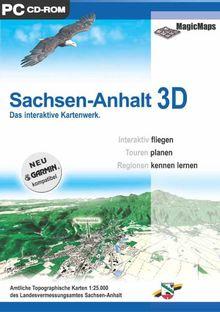 Sachsen-Anhalt 3D