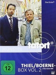 Tatort: Thiel/Boerne-Box, Vol. 2 [3 DVDs]