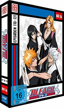 Bleach TV-Serie - Box 6 (Episoden 110-131) [4 DVDs]