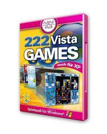 222 VistaGames, DVD-ROM Spielespaß für Microsoft Windows, auch für XP